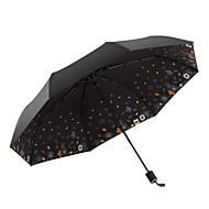 cheap Home Accents-Fabric All Sunny and Rainy / Wind Proof / New Folding Umbrella