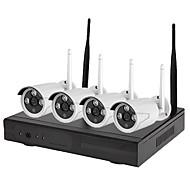 billige Trådløst CCTV System-4-tommers wifi 1080p hd kamera nattesynkamera p2p colud 90 pal / ntsc overføringshastighet 100