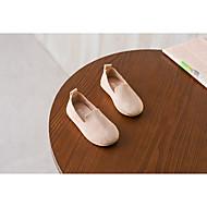 baratos Sapatos de Menino-Para Meninos / Para Meninas Sapatos Couro / Camurça / Couro Ecológico Primavera Conforto Mocassins e Slip-Ons para Amarelo / Vermelho /