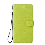 billiga Mobil cases & Skärmskydd-fodral Till LG K3 (2017) Plånbok / Korthållare / med stativ Fodral Enfärgad Hårt PU läder för LG K10 / LG K8 / LG K7