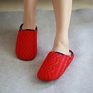 voordelige Pantoffels-Geometrisch patroon Slippers Damesslippers Polyester Teryleen Effen kleur