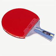 baratos Tenis de Mesa-DHS® R4006C 升级版 Ping Pang/Tabela raquetes de tênis Madeira Borracha 4 Estrelas Cabo Curto Espinhas