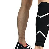 billige Sportsstøtter-Støtte til skinnelegg til Racerløp Basketball Jogging Løp Unisex Nedslags Resistent Non-Slip Sport & Utendørs Elastan Spandex 1 stk