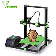 cheap 3D Printers & Supplies-TEVO® Tornado DIY 3D Printer Kit 300*300*400mm Large Printing Size 1.75mm 0.4mm Nozzle Support Off-line Print - 110V