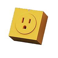 tanie Ulepszanie domu-Gniazdko Funkcja czasowa / Kontroluj swoje urządzenie z dowolnego miejsca / Monitorowanie energii 1 opakowanie PC / środek przeciwpalny Z wtyczką APP / Android / iOS