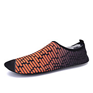 baratos Sapatos Masculinos-Homens / Unisexo Mocassim Elastano Verão / Outono Conforto Tênis Fitness / Água / Tênis Anfíbio Laranja / Amarelo
