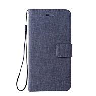 billiga Mobil cases & Skärmskydd-fodral Till Xiaomi Redmi 4a Redmi 4X Korthållare Plånbok med stativ Lucka Fodral Ensfärgat Hårt PU läder för Xiaomi Redmi 4X Xiaomi Redmi