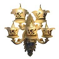 billige Vegglamper-ZHISHU Mini Stil Enkel / Traditionel / Klassisk Vegglamper Stue / Soverom / Spisestue Metall Vegglampe 110-120V / 220-240V 5W