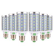 billige Kornpærer med LED-YWXLIGHT® 6pcs 25W 2000-2500 lm E26/E27 LED-kornpærer T 72 leds SMD 5730 Dekorativ Varm hvit Kjølig hvit AC 85-265V