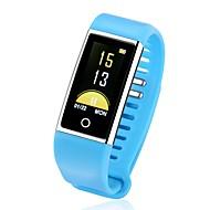 tanie Inteligentne zegarki-Inteligentny zegarek Bluetooth Wodoszczelny Spalone kalorie Czuj dotyku Kontrola APP Pulse Tracker Krokomierz Rejestrator aktywności