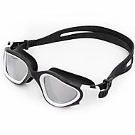 billiga Swim Goggles-Simglasögon Anti-Dimma Anti - Slit Reptåligt Stöttålig Anti-halk band Vattentät Plätering Kiselgel PC Gul Vit Grön Röd Blå Gul Röd