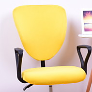 Χαμηλού Κόστους -Σύγχρονο 100% Πολυέστερ Ζακάρ Κάλυμμα καρέκλας, Απλός Μονόχρωμο Εκτυπωμένο slipcovers