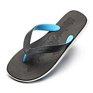 tanie Pantofle-Zwyczajny Pantofle Pantofle męskie Poliester Plastic Jeden kolor
