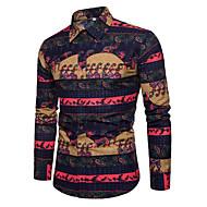 Veći konfekcijski brojevi Majica Muškarci Pamuk Lan