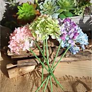 billige Kunstig Blomst-Kunstige blomster 10 Afdeling Moderne Stil Hortensiaer Bordblomst