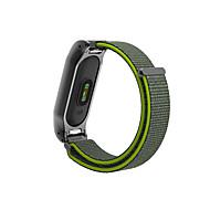 billiga Smart klocka Tillbehör-Klockarmband för Mi Band 2 Xiaomi Sportband Metall Nylon Handledsrem