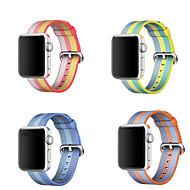 billiga Smart klocka Tillbehör-Klockarmband för Apple Watch Series 4/3/2/1 Apple Sportband Nylon Handledsrem