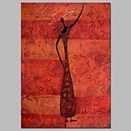 billiga Berömda målningar-Hang målad oljemålning HANDMÅLAD - Känd Vintage Duk