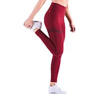 Yoga hlače Donji Trenažer Yoga Brzo kemijska Fitness Medium Waist Mikroelastično Sportska odjeća Žene Yoga Sposobnost