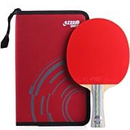 tanie Tenis stołowy-DHS® E602 Rakietki do ping ponga / tenisa stołowego Drewniany / Gumowy 6 gwiazdek Długi uchwyt / Pryszcze Długi uchwyt / Pryszcze