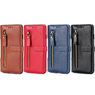 billiga Mobil cases & Skärmskydd-fodral Till Apple iPhone 6 Plus / iPhone 6 Plånbok / Korthållare / med stativ Fodral Ensfärgat Hårt PU läder för iPhone 6s Plus / iPhone 6s / iPhone 6 Plus