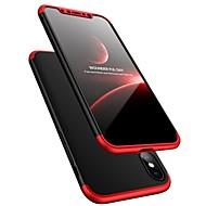 cas pour apple iphone xr xs xs max cas corps entier ultra-mince antichoc cas en plastique dur coloré solide pour iphone x 8 8 plus 7 7plus 6s 6s plus se 5 5s