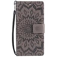 billiga Mobil cases & Skärmskydd-fodral Till Sony Xperia XZ1 Compact Xperia L2 Korthållare Plånbok med stativ Lucka Mönster Fodral Mandala Hårt PU läder för Xperia XA2