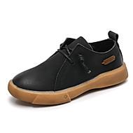 男の子 靴 レザー 春夏 コンフォートシューズ スニーカー のために カジュアル ブラック Brown グリーン
