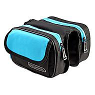 ROSWHEEL Bisiklet Çerçeve Çantaları Giyilebilir Kolay Takılabilen Bisiklet Çantası Basılabilir Polyester Bisikletçi Çantası Bisiklet Çantası Bisiklete biniciliği / Bisiklet