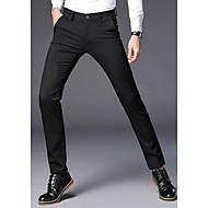 Herre Forretning Pæne bukser Bukser Ensfarvet