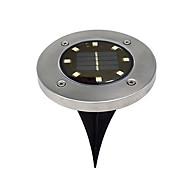 billiga Belysning-BRELONG® 1st 5W Lawn Lights Sol Vattentät Ljusstyrning Utomhusbelysning Varmvit Vit 1.5V