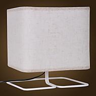 billige Lamper-Traditionel / Klassisk Dekorativ Bordlampe Til Metall 220-240V Hvit Svart