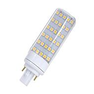 baratos Luzes LED de Dois Pinos-SENCART 1pç 5.5W 580-650lm G24 Luminárias de LED  Duplo-Pin T 30 Contas LED SMD 5050 Decorativa Branco Quente / Branco 85-265V / 12V