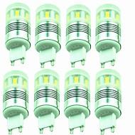 baratos Luzes LED de Dois Pinos-8pçs 3W 200lm G9 Luminárias de LED  Duplo-Pin T 20 Contas LED SMD 2835 Decorativa Branco Quente Branco Frio 220-240V