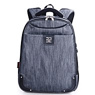 cheap Backpacks-Men's Bags Nylon Backpack Zipper / Tiered Armor Gray