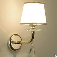 tanie Oświetlenie lustra-Kryształ Prosty Oświetlenie łazienkowe Na Living Room Kryształ Światło ścienne 220-240V 40W