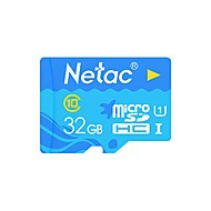 baratos Cartões de Memória-32GB TF cartão Micro SD cartão de memória class10 Netac