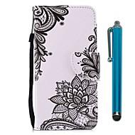 billiga Mobil cases & Skärmskydd-fodral Till Xiaomi Redmi 5 Redmi 5 Plus Korthållare Plånbok med stativ Lucka Magnet Fodral Blomma Hårt PU läder för Redmi Note 5A Xiaomi