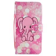 billiga Mobil cases & Skärmskydd-fodral Till Huawei Mate 10 Mate 10 lite Korthållare Plånbok med stativ Lucka Magnet Fodral Elefant Hårt PU läder för Mate 10 lite Mate 10