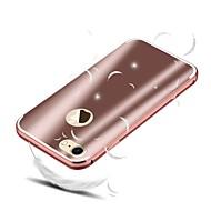 billiga Mobil cases & Skärmskydd-fodral Till Apple iPhone 8 / iPhone 8 Plus Stötsäker / Plätering Skal Enfärgad Hårt Aluminium för iPhone 8 Plus / iPhone 8 / iPhone 7 Plus