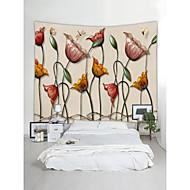 tanie Dekoracje ścienne-Motyw Garden / Krajobraz Dekoracja ścienna 100% poliestru Współczesny / Klasyczny Wall Art, Ścienne Gobeliny Dekoracja