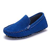 baratos Sapatos de Menina-Para Meninos / Para Meninas Sapatos Pele Nobuck Primavera / Outono Conforto Mocassins e Slip-Ons para Azul Real