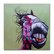 billiga Oljemålningar-styledecor® modern handmålade abstraktfärgad tecknadsåsoljemålning på kanfas väggkonst redo att hänga konst