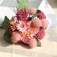 billige Kunstig Blomst-Kunstige blomster 11 Afdeling Rustikt / Bryllup Krysantemum / Planter / Hortensiaer Bordblomst