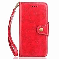 billiga Mobil cases & Skärmskydd-fodral Till Motorola G5 G5 Plus Korthållare Plånbok med stativ Lucka Magnet Fodral Enfärgad Hårt PU läder för Moto Z2 play Moto G5 Plus