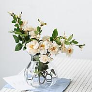 billige Kunstig Blomst-Kunstige blomster 1 Afdeling Klassisk / Europæisk Kamelia Bordblomst