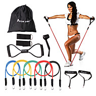 baratos Pilates-KYLINSPORT Faixas de Exercício / Conjunto Fitness 12 pcs Exercício e Atividade Física / Ginásio Treino de Força Borracha