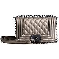 cheap Bags-Women's Bags PU(Polyurethane) Shoulder Bag Zipper Clover / Pearl Pink / Red