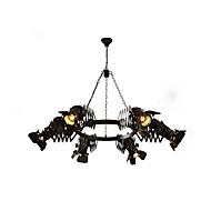 billige Bestelgere-OBSESS® 6-Light Anheng Lys Nedlys - Mini Stil, 110-120V / 220-240V Pære ikke Inkludert / 5-10㎡ / FCC / E26 / E27