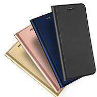 Θήκη Za Apple iPhone X iPhone 8 Utor za kartice Zaokret S magnetom Korice Jedna barva Tvrdo PU koža za iPhone X iPhone 8 Plus iPhone 8